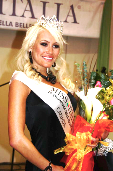Theresa Longo wins Miss Italia North America