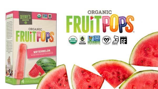 DEEBEES fruit pops